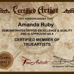 Amanda Ruby cert resized