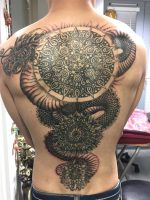Mikes back piece