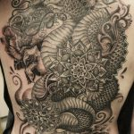 dragon back piece